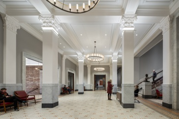 View of the Newberry's Renovated Lobby