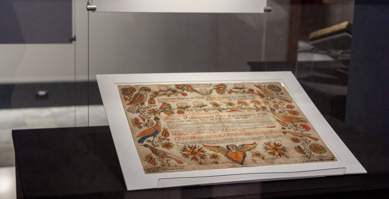 Late 18th-century German-American baptismal certificates