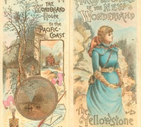 Alice's Adventures in the New Wonderland. In Carl J. Hals and Arvid Rydstrom. Map of the Yellowstone National Park: Compiled from Different Official Explorations and Our Personal Survey, 1882. 1884.  Newberry Call No. Map4F G4262.Y4 1884 H3