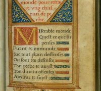 Christine de Pisan, Les Beaulx dicts et enseignements, 1537, Case MS 5326