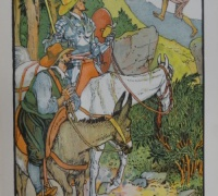 Cardenio, in Don Quixote retold by Judge Parry, illustrated by Walter Crane, 1900. Newberry Wing ZP 845 .C8542.