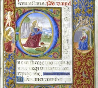 Prayer Book of Anne of Brittany, after 1499. Newberry Case MS 83.