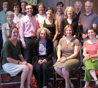 Members of the 2009 summer seminar