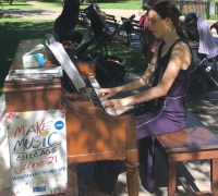 Katrina Sudman, pianist at 2016 Make Music