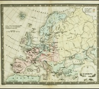 An Atlas of Maps of Different Parts of the World, 1839