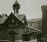 Pigeon House, Stock Yard Inn, Chicago, early 20th century, Percy Sloan Photographs