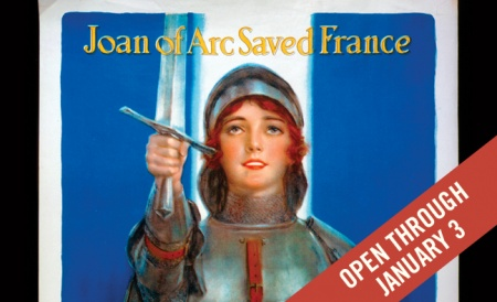 """""""Joan of Arc Saved France"""" poster. Case Wing oversize D522.25 .W67 1914 no. 1"""