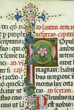 Charterhouse of San Lorenzo lectionary and capitulary, Case MS 75