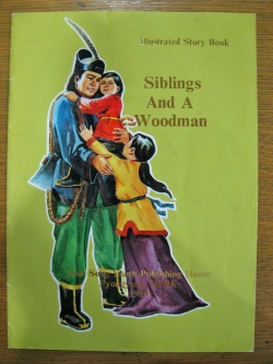Cover of the book, Siblings and a Woodman.