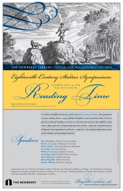 Reading Time Symposium, June 14, 2014