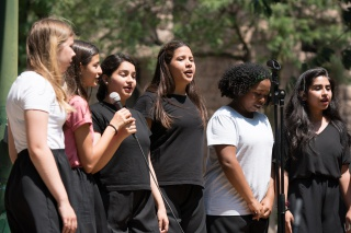 Students from Genesis Academy Summer Institute perform