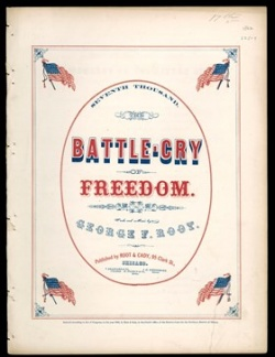 Battle Cry of Freedom, Case sheet music M1. A13 no. 2785