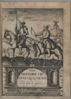 The History of Don Qvichote Part 1, 1620, Newberry Case Y 1565 .C33163