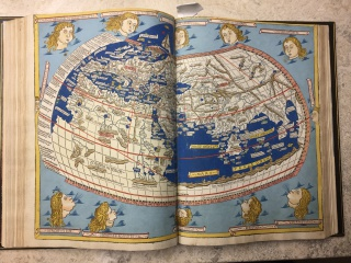 Ulm Ptolemy World Map