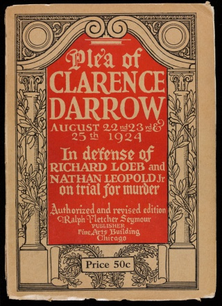 The Plea of Clarence Darrow, 1923