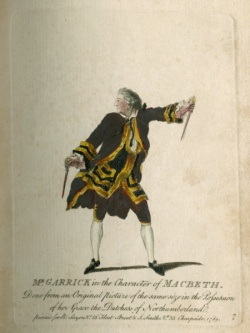 Mr. Garrick in the Character of Macbeth