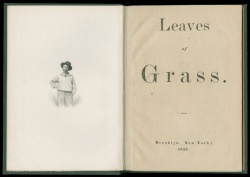 """First edition of Walt Whitman's """"Leaves of Grass"""""""