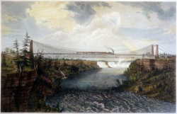 Great International Railway Suspension Bridge, Niagara Falls