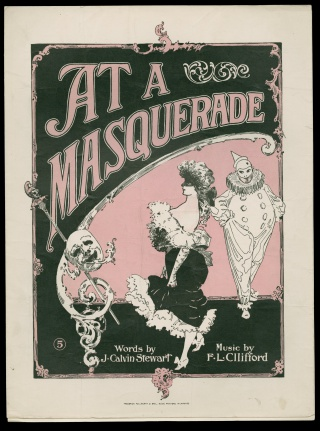 """At A Masquerade"" sheet music"