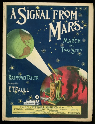 A Signal from Mars sheet music