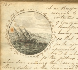 Drawing of the Bounty, Correspondence of Miss Nessy Heywood