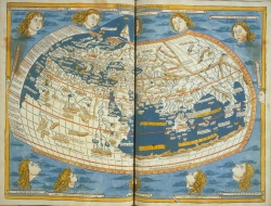 Ptolemy, Cosmographia (World Map). 1482.