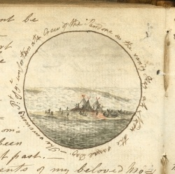 [Correspondence of Miss Heywood during 1790-92]  *Case MS E 5 .H5078