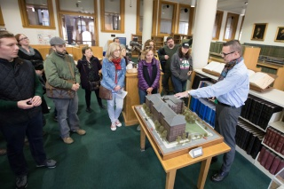 Tour of the Blatchford Reading Room