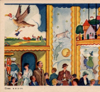 Official Post Card of a Century of Progress 131, Toy Town Tavern
