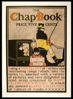 Claude Bragdon's 1896 cover of the Chap-Book, transformed into a poster.  Wing MMS Stone & Kimball.