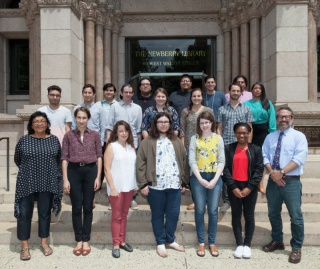 Newberry Consortium in American Indian Studies Summer Institute participants, 2017